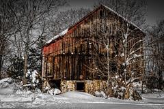 Barn (jwfuqua-photography) Tags: winter nature pennsylvania buckscounty snowice jwfuquaphotography jerrywfuqua