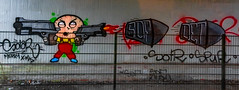 HH-Graffiti 2806 (cmdpirx) Tags: street urban color colour art public up wall graffiti nikon mural paint artist space raum character kunst hamburg can spray crew hh piece farbe bombing throw dose fatcap kru ryc d7100 oeffentlicher
