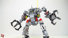 ReVamp M-tron ExoSuit LEGO MOC BY SHIRO (4) (shirokeima) Tags: world geek lego suit shiro alternative mecha moc revamp exo