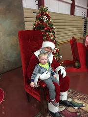 "Paul with Santa at Mooseheart • <a style=""font-size:0.8em;"" href=""http://www.flickr.com/photos/109120354@N07/24707164532/"" target=""_blank"">View on Flickr</a>"