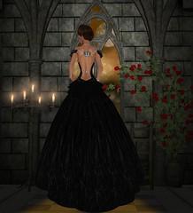 Vengeful Threads - Midnight Divina - Back (catsrage17) Tags: danielle ikon carries zoz slink estyle zuris tukinowaguma vengefulthreads akeruka wowskins