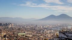 Naples - IMG_4877 (Nicola since 1972) Tags: blue sky italy cloud skyline campania it napoli vesuvio natale2015