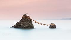 Meoto Iwa (Dmytro Cherkasov) Tags: ocean travel autumn sunset sea seascape japan canon landscape rocks asia long exposure nd kansai ise mie mieken iseshi futami wedded iwa gnd meoto 500px ifttt