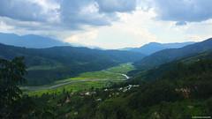 The Road to Imphal (noshtradamus) Tags: india mountains nature clouds river highway horizon valley northeast kohima nagaland manipur imphal senapati