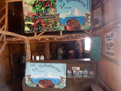 Yerbabuena - espresso bij Ramon