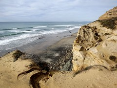 ocean and sea cliffs (h willome) Tags: ocean california beach torreypines sandiego torreypinesstatereserve 2016