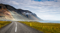 Halsfjall coast road, Iceland (Andreas Gerber) Tags: road panorama costa mountain mountains green clouds canon landscape island coast iceland strada mare andreas giallo cielo mm canoneos prato montagna celo paesaggio gerber isola islanda canonefs1022mmf3545usm isole canoneos50d halsfjall