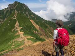 Mt. Amida-Dake 2,805m (Hiroyoshi Wada) Tags: mountain mountains japan trekking landscape landscapes climbing nagano