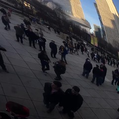 Lost? (Jonathan Lurie) Tags: chicago millenniumpark cloudgate thebean thisisart refelections