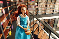 have you got anything new for me to read? (girl enchanted) Tags: ds disney disneystore belledoll beautyandthebeastdoll