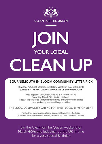 Litter Pick March 5 2016 - Clean for the Queen