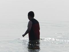 Going swimming at Long Point August 2015 41 (cambridgebayweather) Tags: swimming nunavut cambridgebay arcticocean dustinsim