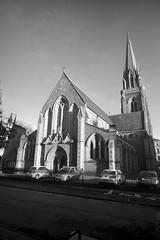 St Marys Episcopal Cathedral, Glasgow (David_Leicafan) Tags: tower church cathedral glasgow spire lancet georgegilbertscott 21mmsuperangulonf34