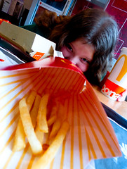 2-27-16b (jonathan.carroll484) Tags: macro girl french perspective mcdonalds fries