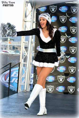 2015 Oakland Raiderette Kelly @ Raiderville