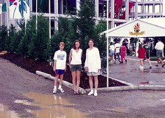 1996 - M at the Olympics (greenebriar) Tags: mitch kathy trudy