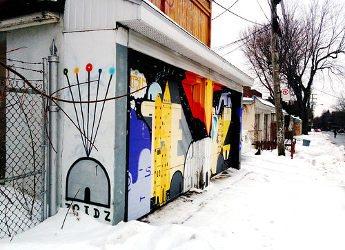 Beautiful Garage Door - Montreal