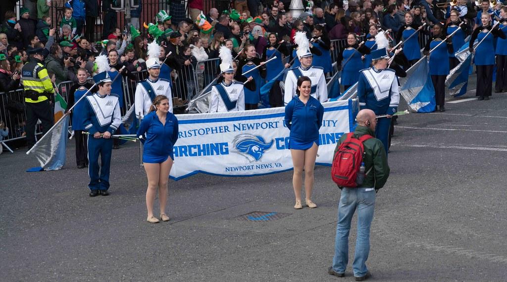 Christopher Newport University Marching Captains-112414