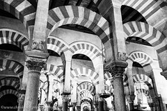 Cathedral-Mosque (www.chriskench.photography) Tags: travel bw architecture andaluca spain andalucia espana mezquita fujifilm es crdoba semanasanta 18135 alandaluz xt1 kenchie wwwchriskenchphotography
