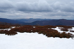 felhs most a rgi kk g / grey clouds on winter sky (debreczeniemoke) Tags: winter mountains landscape hegy tjkp gutin tl rozsly gutinhegysg igni olympusem5 gutinmountains