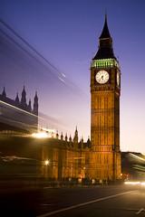 London_2008-0472-cropped (rexmaxphoto) Tags: street uk greatbritain england london tower clock architecture twilight europe exterior traffic parliament bigben motionblur