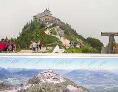 two views,Kehlsteinhaus (wwshack) Tags: germany berchtesgaden eaglesnest kehlsteinhaus