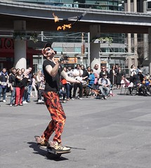 DSC04016 (Moodycamera Photography) Tags: street toronto ontario set movie square downtown sony busker yonge juggler dundas strain a6000