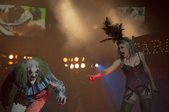 Down Clown (MattDeane) Tags: circus maria preston douglas morose carnevil horrors disorderly circusofhorrors marose chartertheatre