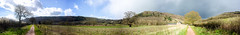 20160406-Day 5 - The Peregrine Path, out from Monmouth - DSC_0092_stitch-19585 x 2846 () Tags: panorama bicycling monmouth endtoend lejog peregrinepath
