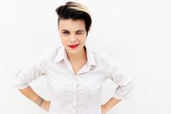 Rafaela Lopes (camiedestito) Tags: fashion tattoo studio model fancy buzzcut