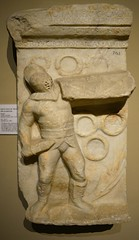 (orientalizing) Tags: sculpture grave turkey istanbul stele gladiator reliefs archaeologicalmuseum aydin 2ndcenturyad tralles archaia