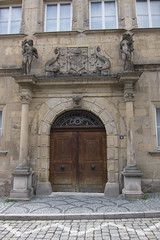 Door with maritime motif (quinet) Tags: door germany porte tr 2012 castleroad burgenstrase