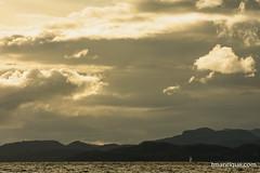 Lonely Sailboat (tm1126) Tags: lake mountains clouds landscape boat nikon nahuelhuapi splittone telephotolandscape d7100 splittonning