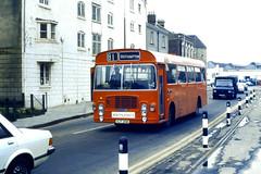 Slide 056-63 (Steve Guess) Tags: uk red england bus bristol hampshire gb lh southampton ecw hants hantsdorset southhants
