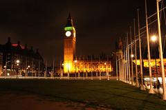 London 45647 (kgvuk) Tags: nightphotography london housesofparliament bigben clocktower parliamentsquare elizabethtower
