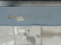 Vandalismus (mkorsakov) Tags: grey graffiti grau sbahn tagging dortmund scratching gelnder vandalismus oespel deorte