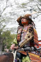 (Pic_Joy) Tags: portrait festival japan spring kyoto asia blossoms parade celebration   warrior sakura cherryblossoms samurai procession  jinja hanami bushi    buke   hirano  hiranoshrine   sakuraparade