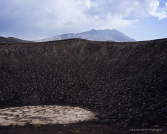 Ubehebe Crater (Jeff Addicott) Tags: clouds volcano deathvalley blustery carlzeiss sonya7 fe35 sonnartfe2835 sonnar3528za