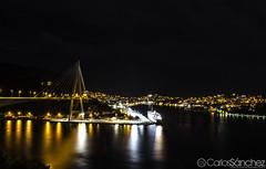 Dubrovnik's Bridge (cashacker1980) Tags: bridge light water night landscape puente noche arquitectura agua nikon exposure nightshot croatia aire croazia dubrovnik libre croacia d5100