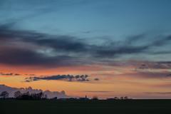 At Sunset (Infomastern) Tags: sunset sky cloud landscape countryside dusk himmel solnedgång landskap moln skymning landsbygd