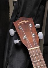 56/105 Ukulele (bellemarematt) Tags: music brown black ukulele instrument string soprano lanikai 105mm