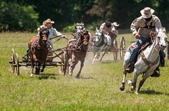 C'mon....c'mon....! (braniffelectra) Tags: race cowboy texas palestine rodeo northtexas