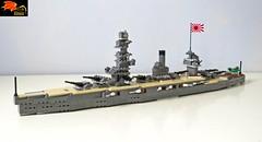 Battleship Fuso (Enon) Tags: world japan japanese us war pacific navy second imperial battleship fuso ise yamashiro hyuga