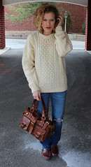 Sexy women in aran wool sweater (Mytwist) Tags: ireland winter irish woman sexy classic wool fashion lady female fetish sweater fisherman warm fuzzy cream ivory handknit craft style nwt cable retro cables passion jumper knitted aran timeless pullover handcraft slave donn laine crewneck handknitted sweatergirl knitwear cabled carraig woolfetish aransweater handgestrickt aranstyle newportdeals