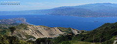 A new view of my city (Gianluca De Dominici) Tags: new travel blue sky italy panorama mountains green nature beautiful composition contrast landscape boat high mare colours view sony perspective first explore panoramica montagna sicilia altura