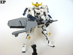 Gundam Barbatos 6th Form (ExclusivelyPlastic) Tags: mobile japan japanese robot lego orphans suit gundam mecha mech barbatos ironblooded
