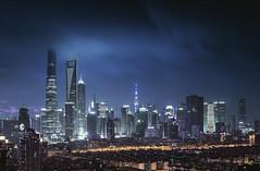 SHANGHAI NIGHT (L-E-N-G) Tags: china city travel rain shanghai traffic scene impressed gettyimages lujiazui