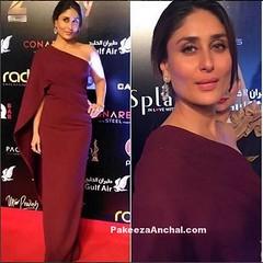 Kareena Kapoor in Maroon One Shoulder Marsala Gown by MOnisha Jaising (shaf_prince) Tags: gowns kareenakapoor bollywoodactress designerwear oneshoulderdress celebritydresses bollywooddesignerdresses partyweargowns actressingowns actressinreddresses marsalagown