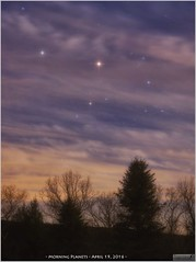 Two Planets, a Touch of Clouds and a Pinch of Moon Glow (LeisurelyScientist.com) Tags: morning trees sky mars clouds canon stars glow pennsylvania tripod science astrophotography april astronomy saturn constellation astronomer scorpius 2016 weatherly antares skyglow canon6d tomwildoner leisurelyscientist leisurelyscientistcom