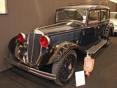 Artena (The Rubberbandman) Tags: old italy 3 black classic car sedan vintage germany essen german techno vehicle saloon serie lancia artena classica itailan terza